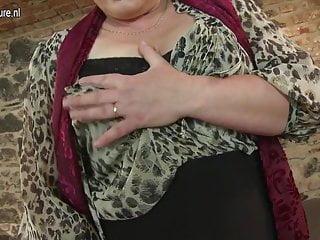 Horny old grannies fucking videos - Horny mature slut fucking her toy boy