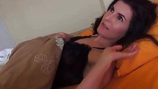 Surprising Milf in Bed