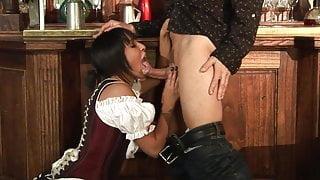 Big boobs Romana has never been slammed this hard