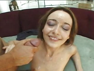 Branded breast - Brand new year facial cumshot compilation