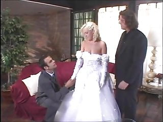 Young brides fucking Young blonde bride babe fucks her groom and his best man
