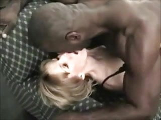 Black stud fucking mature woman - Petite blonde wife loves her muscular black stud