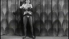 Sensational Sandra Storm in Action - Vintage Burlesque
