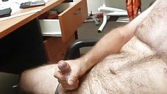 just me wanking while watching porn