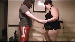 Bbw Ballbusting & Blowjob (Incomplete)