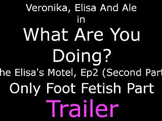 What triggers a foot fetish - What are you doing - only foot fetish