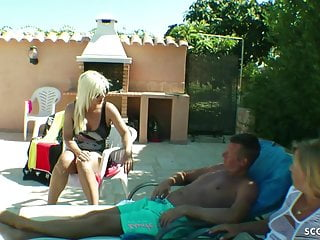 Myvidster vers fucking holiday German wife made husband to cuckold and fuck boy at holiday