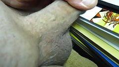 67yrold Grandpa &115 uncut wank closeup mature naked close