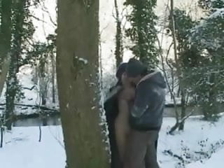 Snow teens - British maisie fucked in the snow
