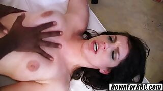 DOWN FOR BBC - Bobbi Starr loves rough anal with BBC