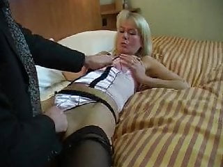 The fist microscope Milf loves the fist