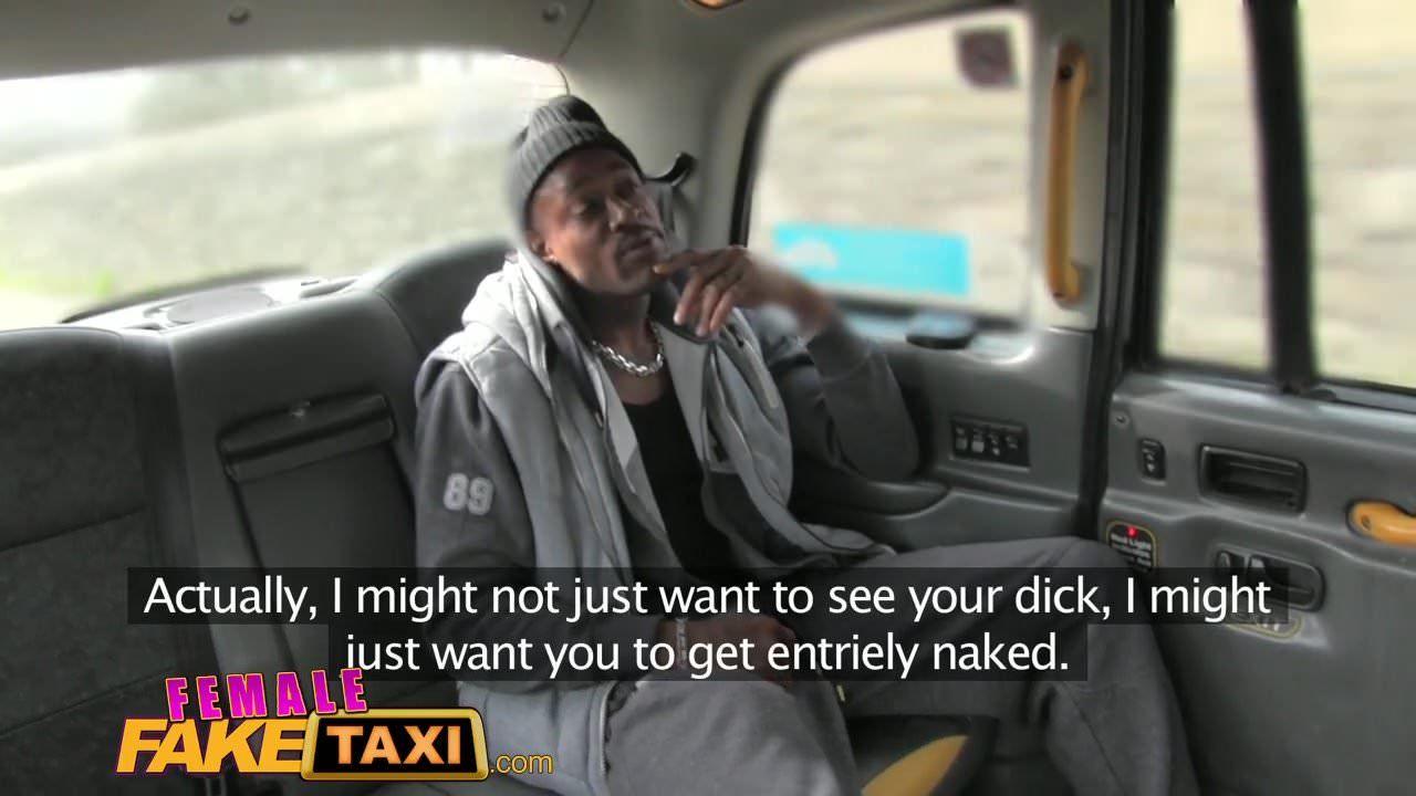 Fake Taxi Big Black Cock