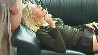 Smoking Facial Blonde