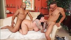 Big Booty BBW MILF gets DP'ed by Shane Diesel and Ramon XXX
