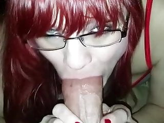 How togive an amazing blowjob - Nurse ginger gives an amazing blowjob pov