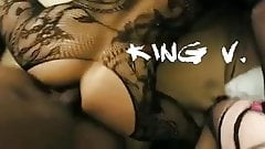 King V BBC barebacks sissies in threesome (Part 1)
