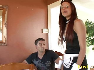 Jonathon tucker penis Angelic lizzie tucker is quite a horny maid