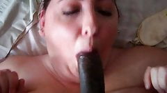Tenant lets me fuck her face