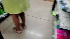 Black lady upskirt