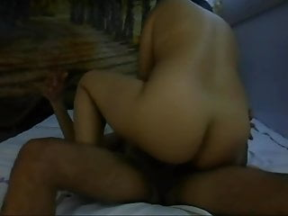 Make your wife cum fast - Ridding cock and making him cum fast in here pussy