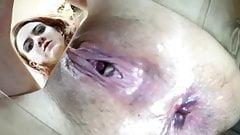 Девушка с грязной киской пердит