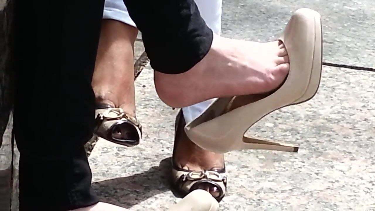 Lesbian Feet High Heels