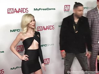 Roxxxy avn adult entertainment 2019 avn nominations party - red carpet part 3