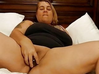 Balls insertion in pussy Big glass ball insertion