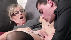 gorgeous MILF takes young cock #2