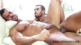 Lucio Saints and Denis Vega