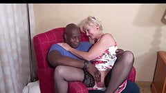 Queen Spade meets up with Blqcl Bull. Mature Interracial