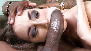 Two BBCs At Same Time In Paige Turnah's Pussy