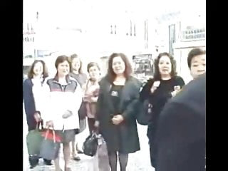 Asians in idaho - Granny asians in bus