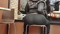 Black Chick Shaking That Ass