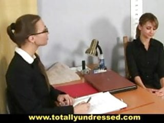 Young naturalist nudes Humiliating nude job interview for young lady