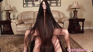 Foxy Anya Silky hair sex