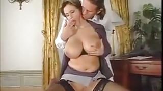 Milf with a big tits sex