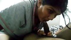 DESI BHABHI SUCKS AND GETS FUCKED HARD BY SERVANT