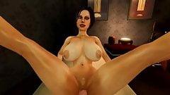 SFM legs up test sex animation