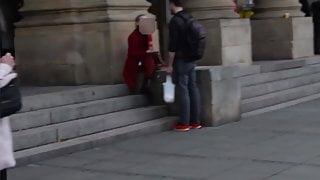Tall German Dude Picks Up Brazilian Blonde