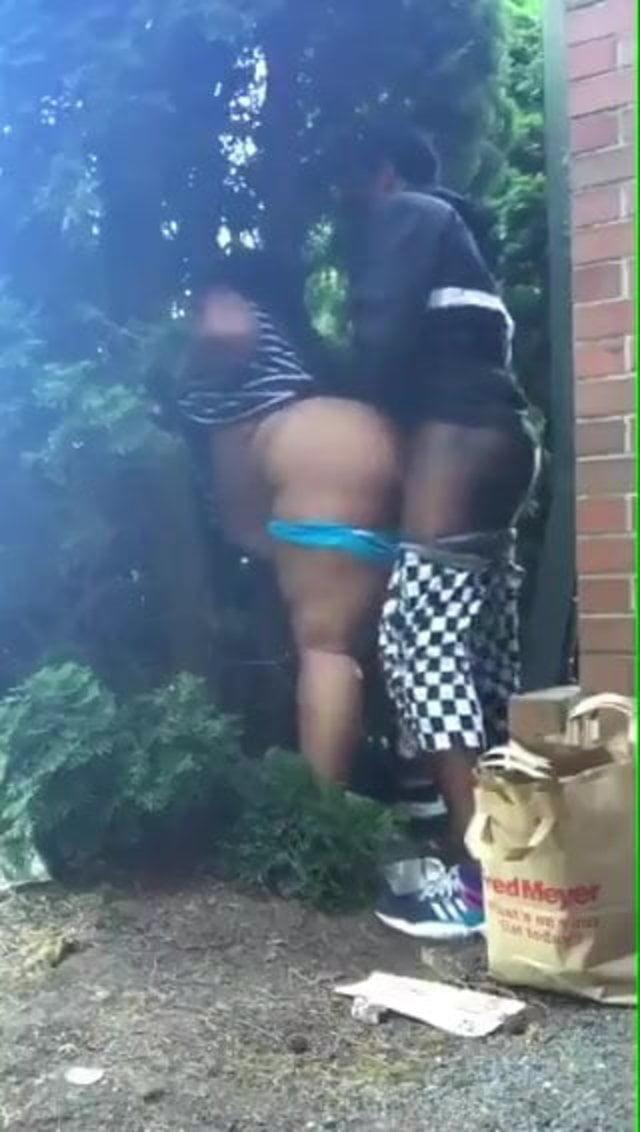 Black Girl Fucked Outside