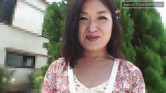 Asiatischer Creampie