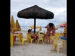 The daily bikini com - Loira rabuda com fio dental socado com tatuagem