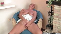 Hot granny needs to get off