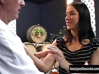 Suck old cock Teen vixen suck and fuck an old cock