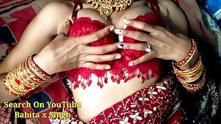 Devar Fucks Newly Married Bhabhi's Pussy Hard With Hindi Audio