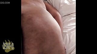 Whipping and busting bear panties - BDSM