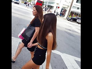 Lingerie hard bodies models - Candid voyeur tight body teen model shopping