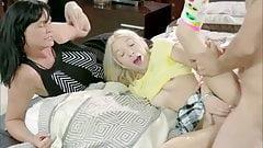 old man fuck blonde stepdaughter