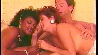 Sharon Mitchell & Angel Kelly in Honeymoon Harlot